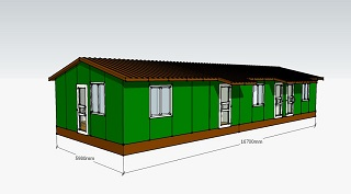 Проект охотничий дом