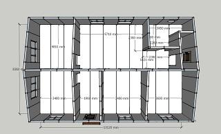 План одноэтажного этажа