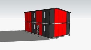 Проект гостевого дома на 4 номера