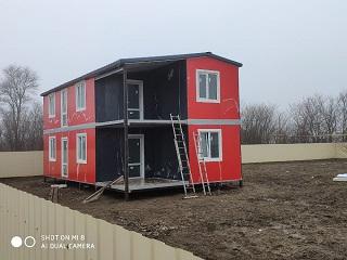Построенный гостевой дом в Кучугурах