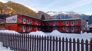 Построенная гостиница в Архызе