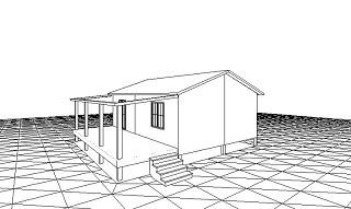 Проект сборного дома Кутаис