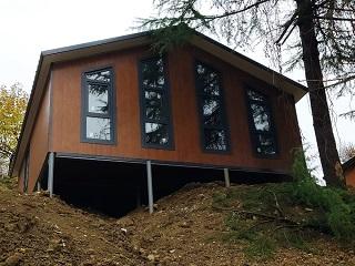 Вид построенного дома по проекту Казачий