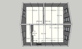 План дома 50 кв.м. из сэндвич-панелей