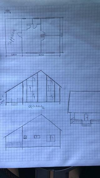 Проектирование дома по эскизу