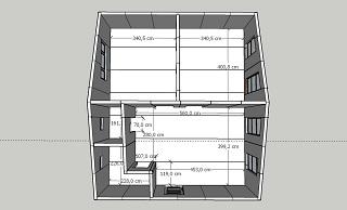 План дома 60 кв.м. из сэндвич-панелей