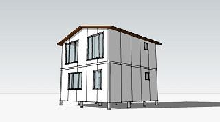 Проект дома из сэндвич-панелей