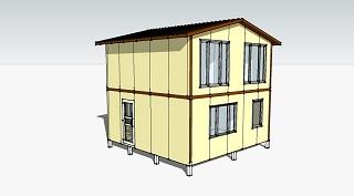 Проект сборного дома 36 кв.м.