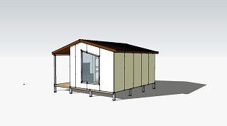 Проект гостевого дома 25 кв.м.