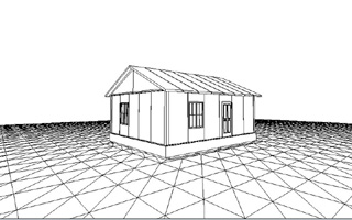 Комплект Барин 43. Сборный дом